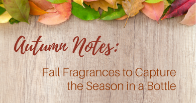 Which Fragrances should I use during Autumn?