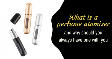What is a Perfume Atomizer and Why Should You Always Have One with You?