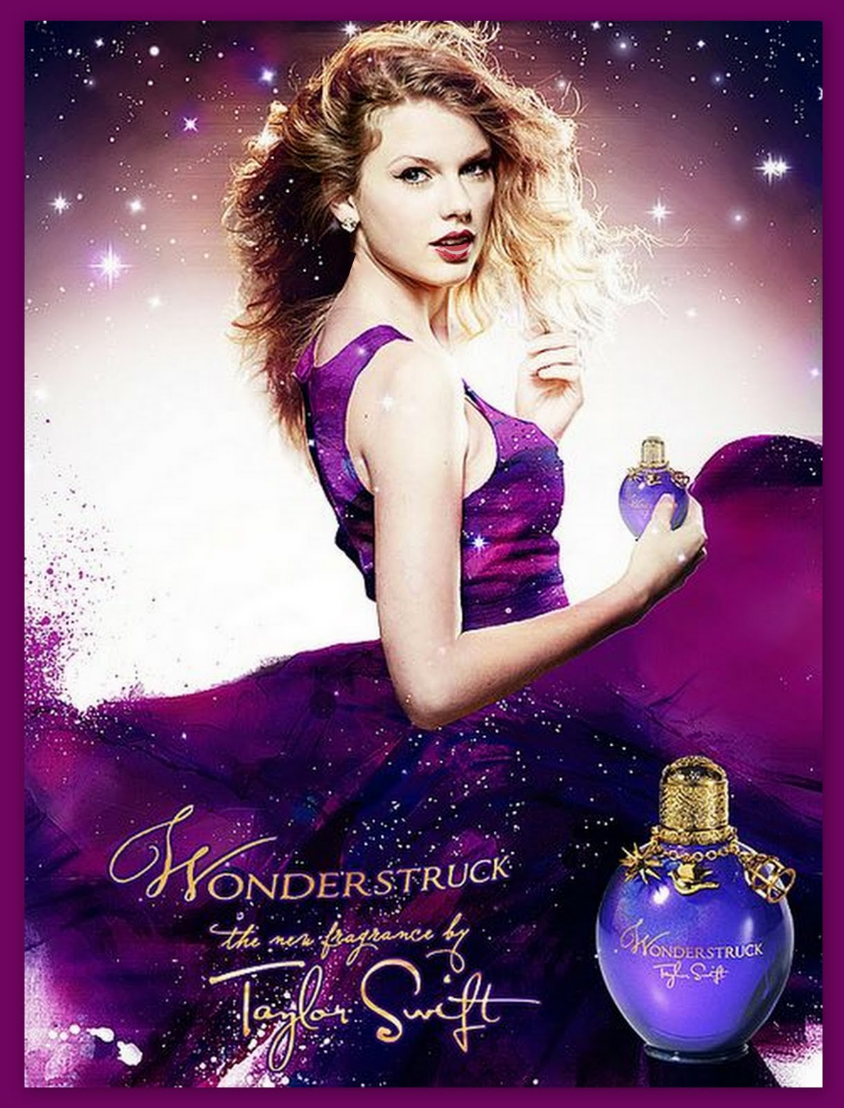 Wonder Struck By Taylor Swift Perfume Dont Smell Bad